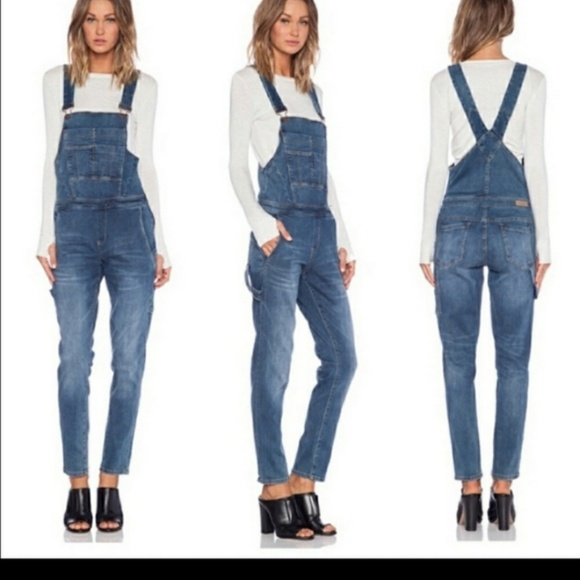 BLANK NYC All over it Slim fit  Denim Overalls 29